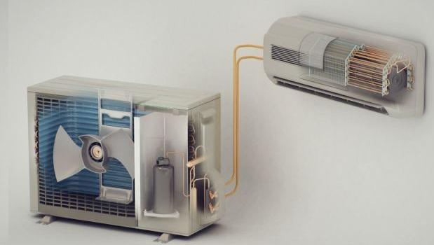 Бытовой настенный кондиционер - сплит система
